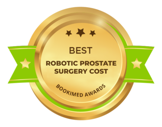 Bookimed Awards 2018: Best robotic prostate surgery cost