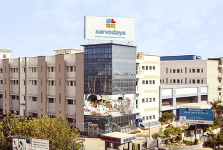 Find Thyroidectomy prices at Sarvodaya Hospital and Research Center in India